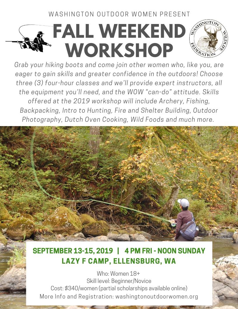Fall Weekend Workshop – WOW